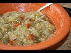 Surinaams eten!: Tjoka of choka: Surinaamse sambal van aardappel, tomaat of aubergine