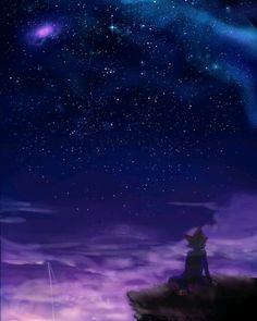 En la noche oscura, tu y yo?