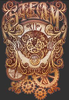 Steampunk Design   Steampunk Design Elements This steampunk artwork is