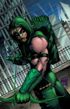 Green Arrow colors by hanzozuken on DeviantArt