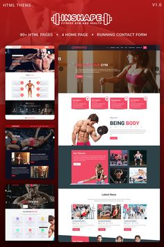 InShape: Gym, Body Building, Fitness Website Template – Hobbies paining body for kids and adult Powerlifting Training, Weightlifting, Gyms Near Me, Web Design, Design Ideas, Gym Workouts Women, No Photoshop, Gym Body, Workout Memes