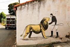 Escif New Murals In Ordes, Spain
