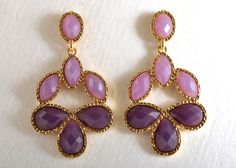 Exquisite Shades of Purple Earrings | Celebrate Jewelry