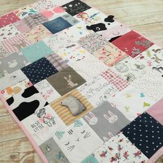 When I see girls clothes all I can think is, that will be beautiful in a quilt 😂 this is why 😍 Keepsake Quilting, Organic Baby, Quilt Making, Girl Outfits, Gift Ideas, Quilts, Blanket, Girls, Crafts
