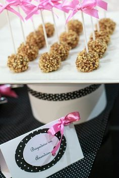 Pink and chic party #chocolate #party