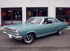 1967 Ford Fairlane 500 - I drove a 4 door one of these in high school/college.
