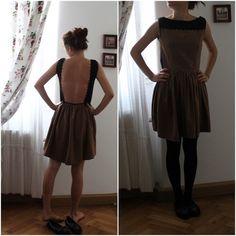 Kleid ruckenfrei umnahen