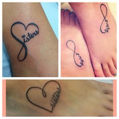 Sister tattoos. Any of these? @Casey Champagne