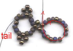 LatticeBracelet Bead Jewellery, Beaded Jewelry, Beaded Necklace, Beaded Bracelets, Bracelet Tutorial, Beading Tutorials, Bead Weaving, Seed Beads, Projects To Try