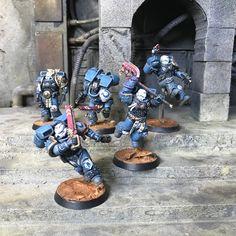 Warhammer Models, Warhammer 40k Miniatures, Warhammer 40000, Space Marine, Paint Schemes, Marines, Skateboard, Concept Art, Artwork