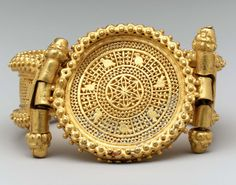 Byzantine Bracelet probably made in Rome. I have a reproduction from the Met which is very like this in style.