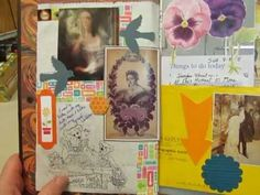 I used 2 book covers from National Geographic books to make 2 junky junk journals. The pages are made from my box of junk mail, scraps, packaging, magazine a...