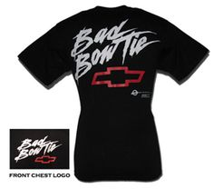 Chevrolet Bad Bowtie T-Shirt-Chevy Mall. Dont know why I find this cool but I do