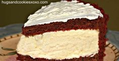 Creamy Red Velvet Cheesecake