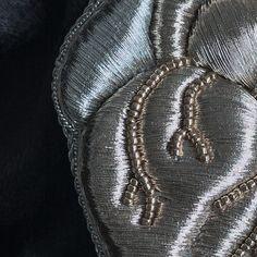 https://www.facebook.com/submarina77/photos  Goldwork embroidery, brooch, SubMarina #goldwork #goldworkembroidery #couture
