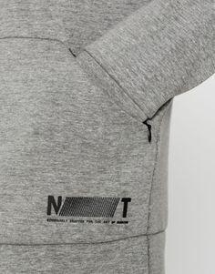 Round neck technical sweatshirt - Sweatshirts - Clothing - Man - PULL&BEAR Albania