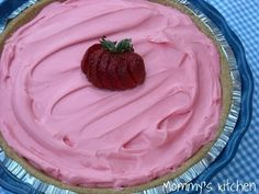 Koolaid Pie 1 - 8 ounce tub of Cool Whip Whipped Topping  1 - 14 ounce can of Sweetened Condensed Milk  1 - pack of unsweetened Strawberry   Koolaid, 1 - 9 inch Graham Cracker or Nilla Wafer Pie Crust