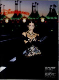 Angelika Kallio/ L'Officiel Magazine/ 1992