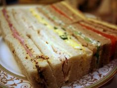 Afternoon Tea Sandwiches at The Ritz