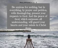 When you loved one is receiving medical treatments, you may be anxious about various side effects. Always turn to God in your prayer and thank the Lord for everything He has already accomplished so far in your journey.  Ask him for what you need and God will provide you peace.  He will guard your heart in Christ. Philippians 4 6 7, God Will Provide, Guard Your Heart, When You Love, 21 Days, Side Effects, Anxious, Jesus Christ, First Love