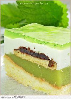 ciasto Shrek = pychotaaaaaa Składniki na biszkopt:… na Stylowi.pl