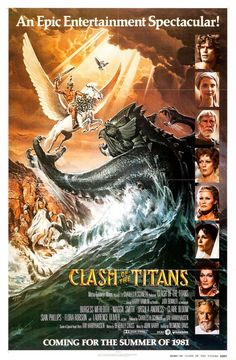 Clash of the Titans (1981) This Greek-mythology extravaganza mashes together enough stories to make a professor's head explode, but it sure is a lot of fun. Just think of it as a Zeus's greatest hits.