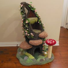 Hollywood Kitty Company offers the finest in Custom Pet Furniture! Diy Cat Tree, Cat Trees, Catnip Toys, Pet Furniture, Funny Cute Cats, Cool Cats, Fluffy Animals, Animals And Pets, Pink Roses