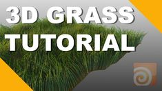 Houdini Tutorial | Creating 3D Grass with Houdini Fur Systems