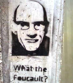 What the Foucault?    [click on this image to find a bundle of clips related to the social theorist Michel Foucault]