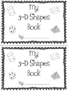 40 Best Kindergarten--Math--3-D Shapes images