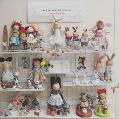 2019 hobby show Paper Mache, Kawaii, Dolls, Holiday Decor, Children, Home Decor, Baby Dolls, Young Children, Papier Mache