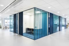TNO Helmond – Automotive Campus by Hollandse Nieuwe - Office concentration pod Divider, Room, Furniture, Home Decor, Bedroom, Decoration Home, Room Decor, Rooms, Home Furnishings