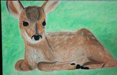 Bamie gemalt mit Kreide