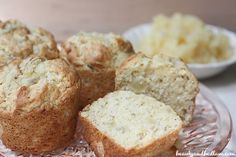Pineapple Banana Muffins @Jen (Balancing Beauty and Bedlam/10 Minute Dinners blogs) Pineapple Banana Muffins (or Bread)