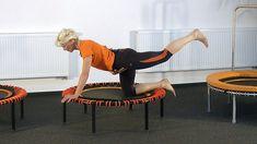 (10 Min.) Übungsprogramm für Bauch Arme und Po auf dem bellicon Trampolin