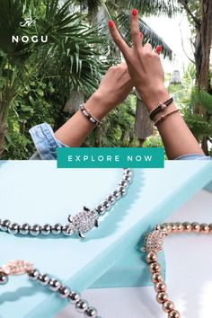 be7449fd1 The Tortuga Crystal Sea Turtle bracelets are hand-crafted from 4mm beads  and are hand