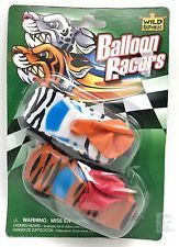 Two Balloon Racing Cars Toy Set New