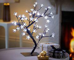 Luminaria Arvore Flores de Cerejeira 48 Leds Branco - 1500384   enjoei :p