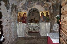 The Church of Agia Theodora in Vastas, Greece