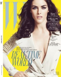 Hilary Rhoda for W Korea May 2011 (Cover)