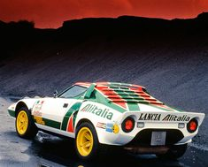 Lancia Stratos HF (High Fidelity) Group 4 Rally in 1974 (Group 5 in 1972-1973…
