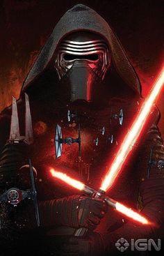 Star Wars: Episode 7 Villain Kylo Ren Revealed in Promo Art - IGN