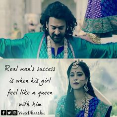 643 Likes, 3 Comments True Love Quotes, Cute Quotes, Sad Quotes, Inspirational Quotes, Love Quates, Prabhas And Anushka, Bahubali 2, Filmy Quotes, Prabhas Pics
