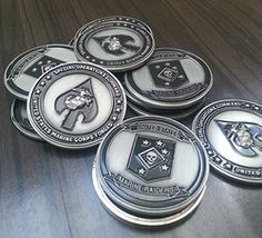 The Raiders Challenge Coin celebrates MARSOC history. The best gift for your favorite MARSOC service member or MARSOC supporter. Marsoc Marines, Marine Raiders, Military Challenge Coins, Special Operations Command, Military Tattoos, Coin Display, American Gods, Pin And Patches, Special Forces