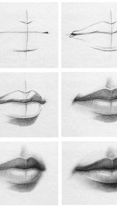 Art Discover How to draw lips - Drawing tips - Pencil Art Drawings Art Drawings Sketches Realistic Drawings Easy Drawings Drawings Of Eyes Drawing Techniques Drawing Tips Drawing Ideas Lips Sketch Cool Art Drawings, Pencil Art Drawings, Art Drawings Sketches, Realistic Drawings, Good Easy Drawings, Drawings Of Men, Pencil Art Love, Emoji Drawings, Lips Sketch