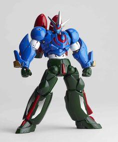 Revoltech Getter Robo: Getter Robo Go Series 089 Ark Action Figure - HobbyStuf