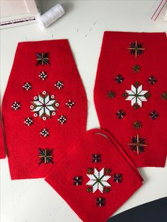 Made by Inger Johanne Wilde Christmas Stockings, Holiday Decor, Home Decor, Homemade Home Decor, Interior Design, Home Interior Design, Decoration Home, Home Decoration, Stockings