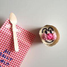 친구들에게 나눠줄 호빵컵케이크 넘나 귀여움 사이좋게 나눠 먹었겠지 ?! . . #daily #생일답례품 #올어바웃월드서퍼