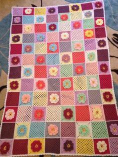 Beautiful Crochet Blanket