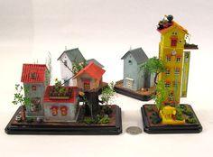 2014, Casas estilo japonés. Escala 1/144 ♡ ♡ By Shu & Kiyo
